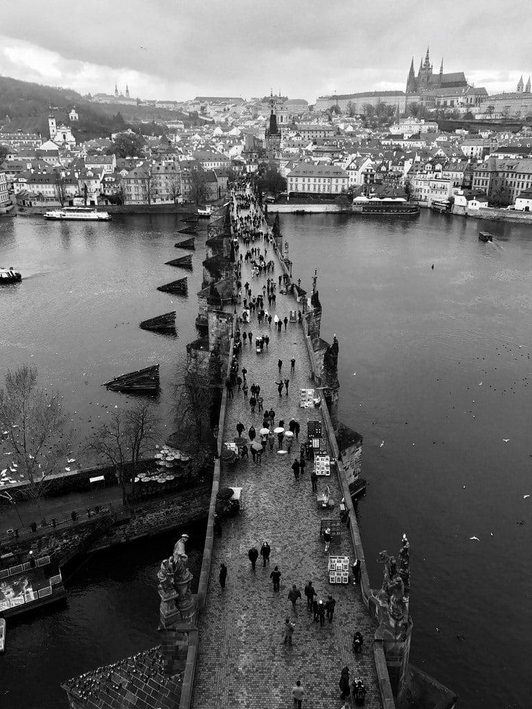 Image of Old Town Bridge Tower. charlesbridge prague czech czechrepublic historical