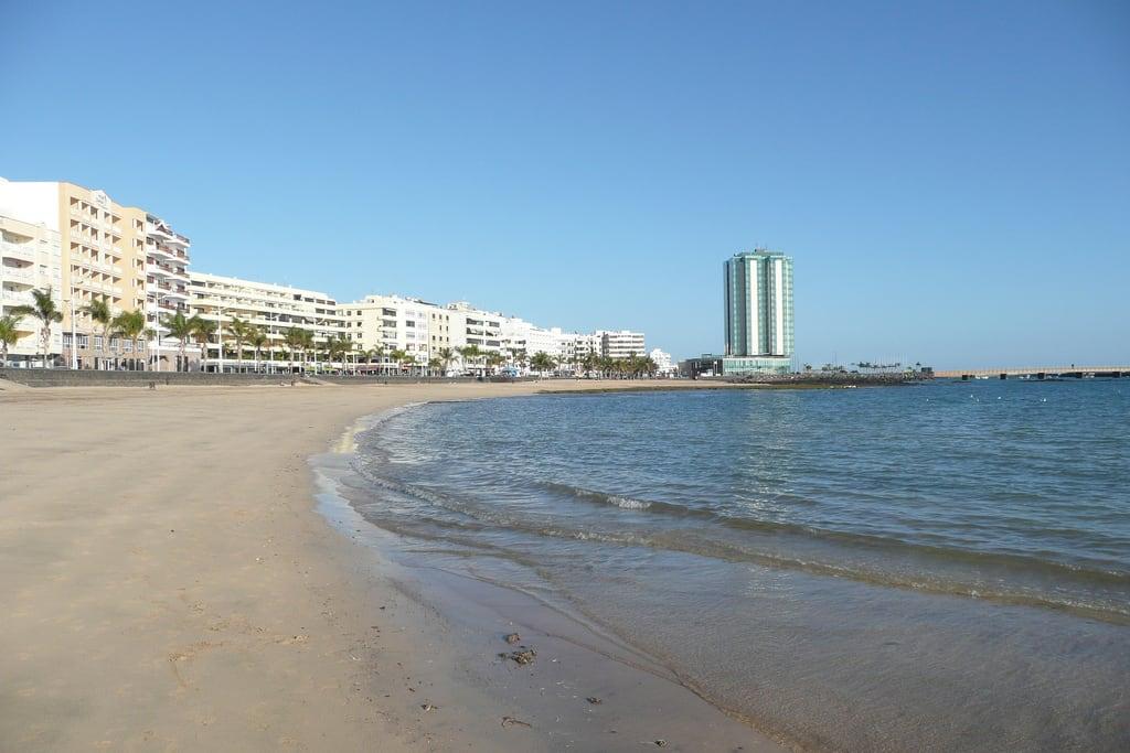 תמונה של Playa del Reducto. lanzarote arrecife granhotel reducto playadelreducto arrecifegranhotel
