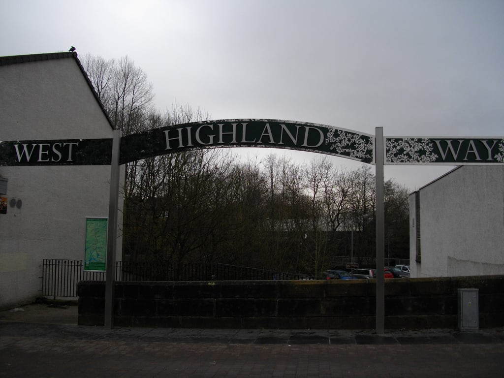 Изображение Start of West Highland Way. scotland milngavie westhighlandway
