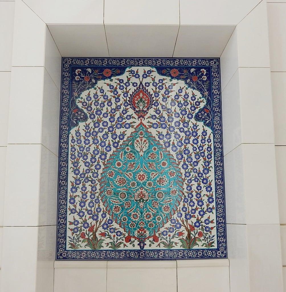 Bild von Schaich-Zayid-Moschee. abudhabi mosque grand islam architecture culture beauty form sheikhzayedmosque patterns intricate