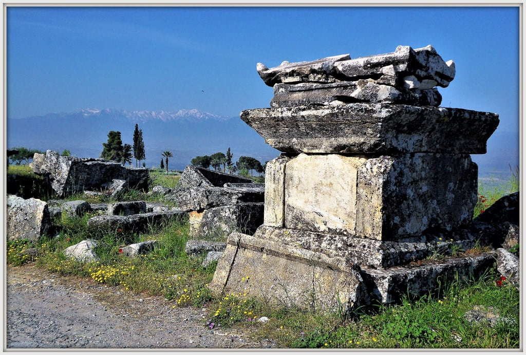 Image of Hierapolis. hierapolis türkei urlaub history geschichte rolfdietrichbrecher vergangenheit eswareinmal onceuponatime früher
