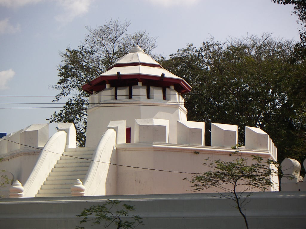 Зображення Mahakan Fort. geotagged thailand bangkok thailand2005 geo:lat=1376lon10050