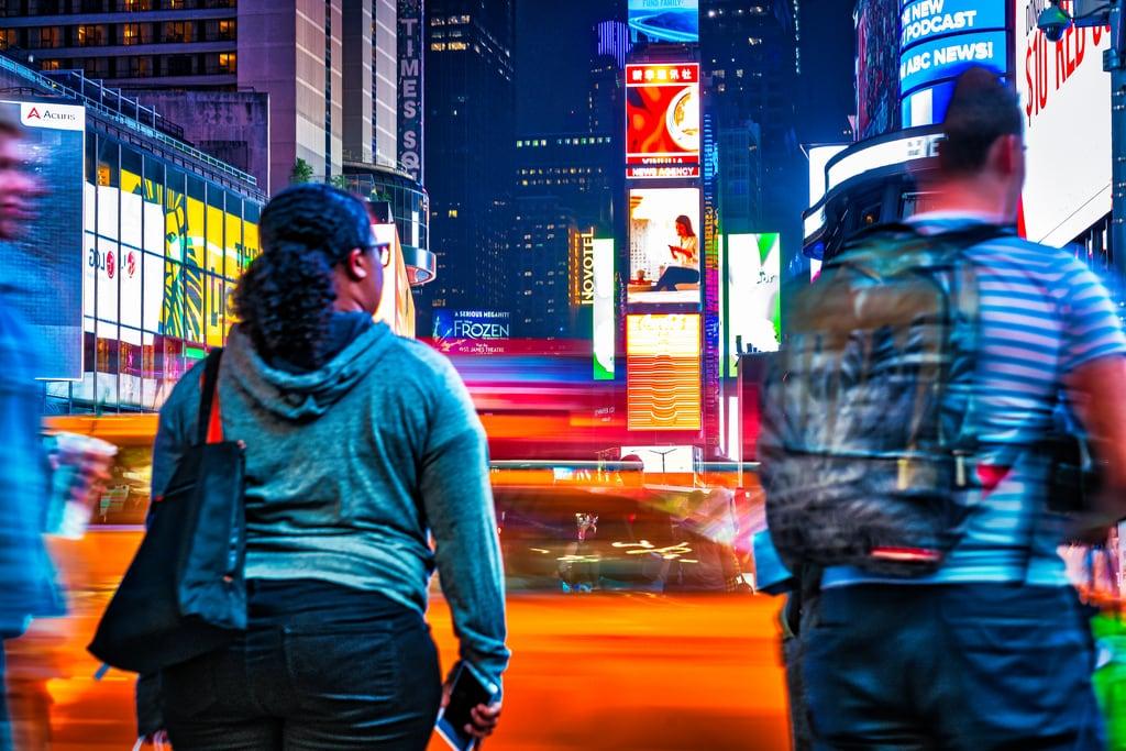 Attēls no Times Square. nyctimessquare newyork unitedstates us