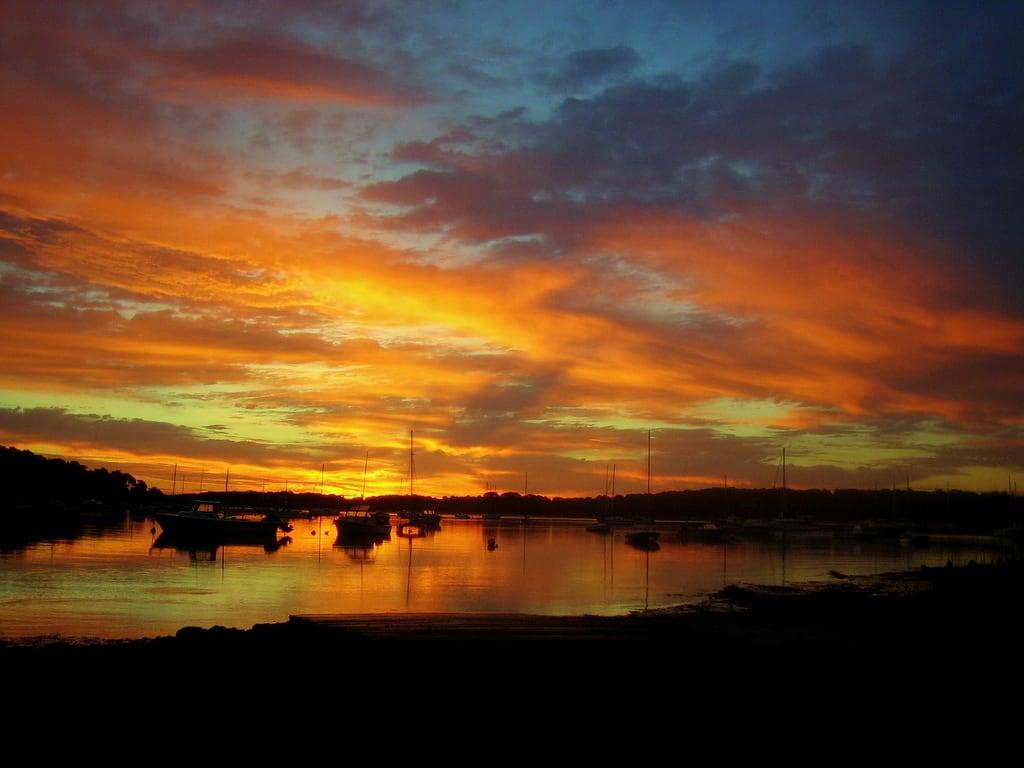 Bilde av Ropes Beach. sky cotuit