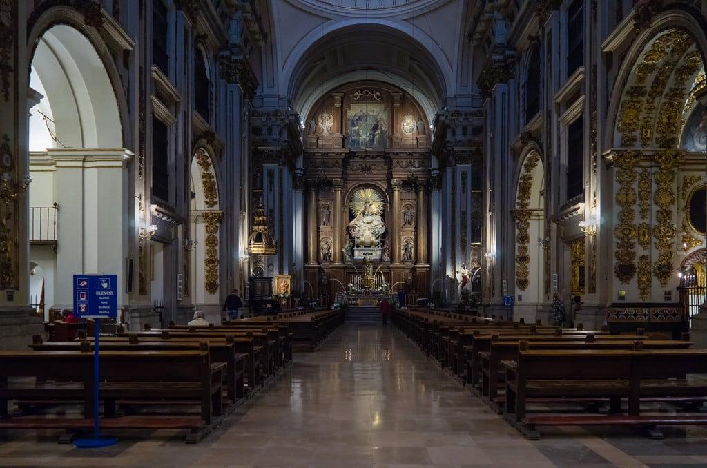 Image of Colegiata de San Isidro. madrid españa spain casco histórico iglesia colegiata church templo temple latina downtown catedral cathedral compañíadejesús
