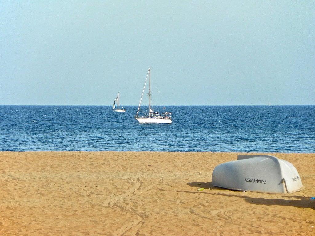 Imagem de Platja del Litoral. catalunya santadriàdelbesòs mar barcelonès
