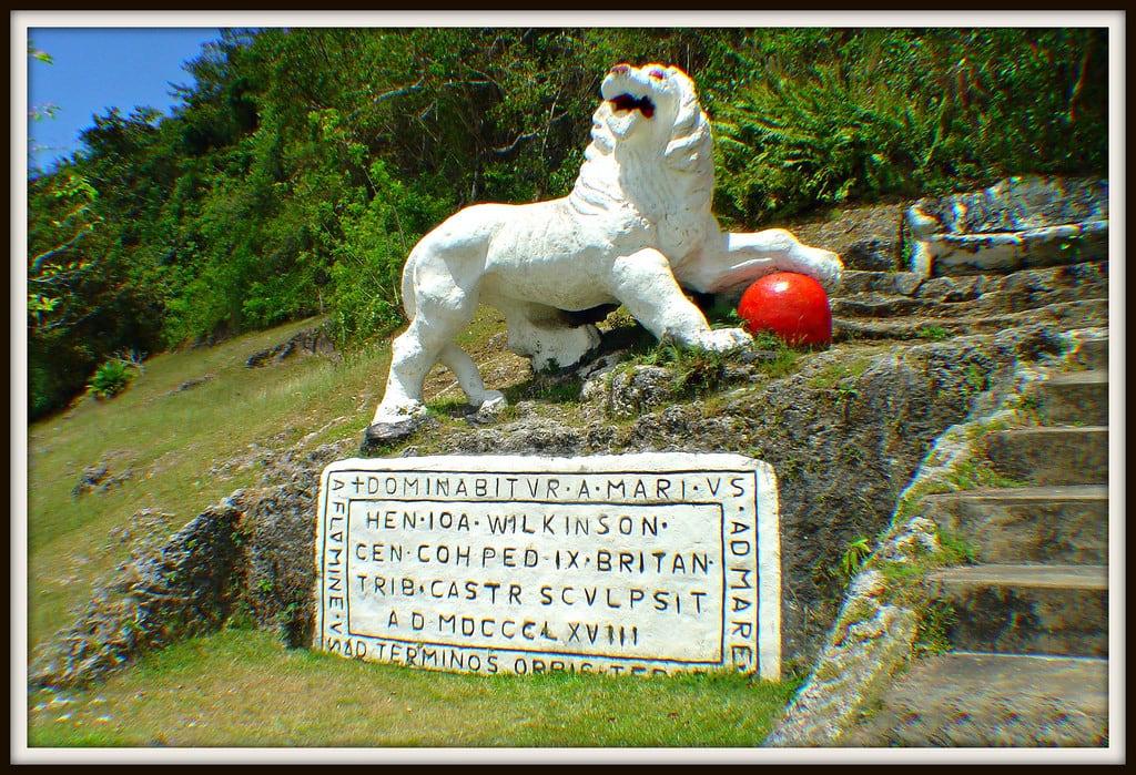 Image de Gun Hill Lion. barbados britisharmy royalscotsfusiliers