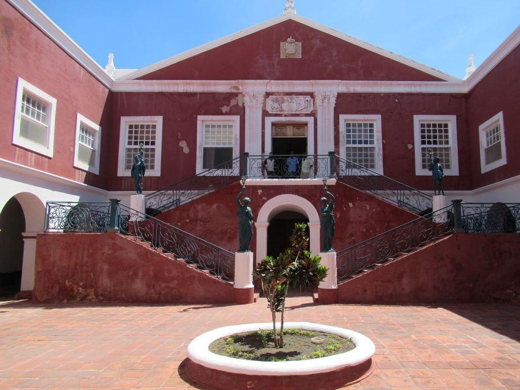 Image of Palácio de São Paulo. paláciodesãopaulo jesuit island portuguese governor mozambique museum