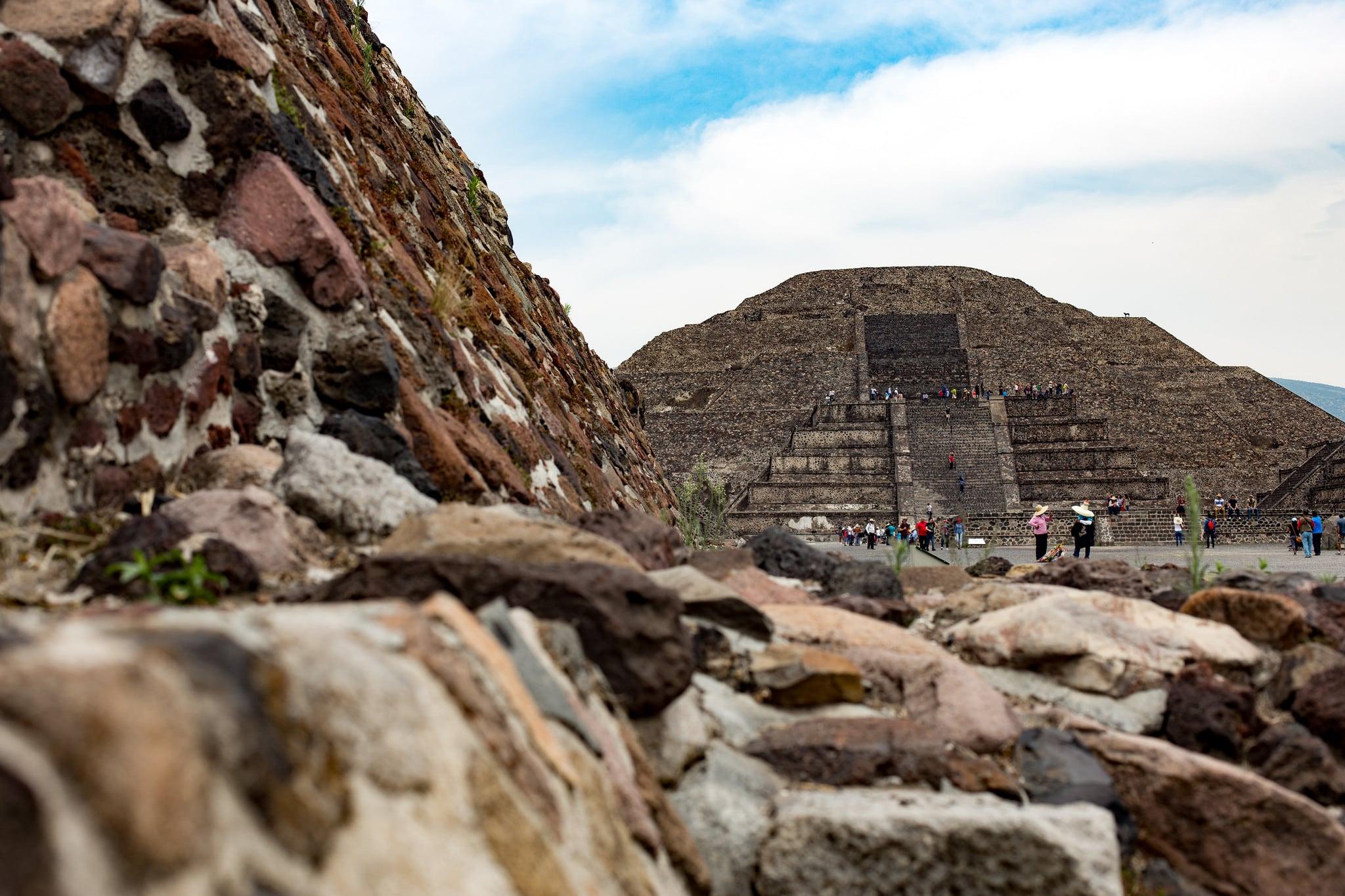 תמונה של Teotihuacán ליד Ampliación San Francisco. cdmx mexicocity teotihuacan vacamex estadodeméxico mexico mx