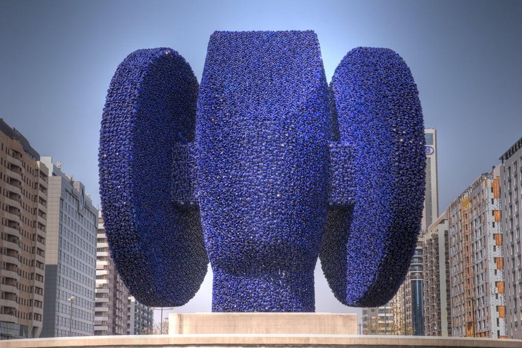 Изображение Dama de Elche. head monumento cabeza 2009 damadeelche fallas2009 falles2009