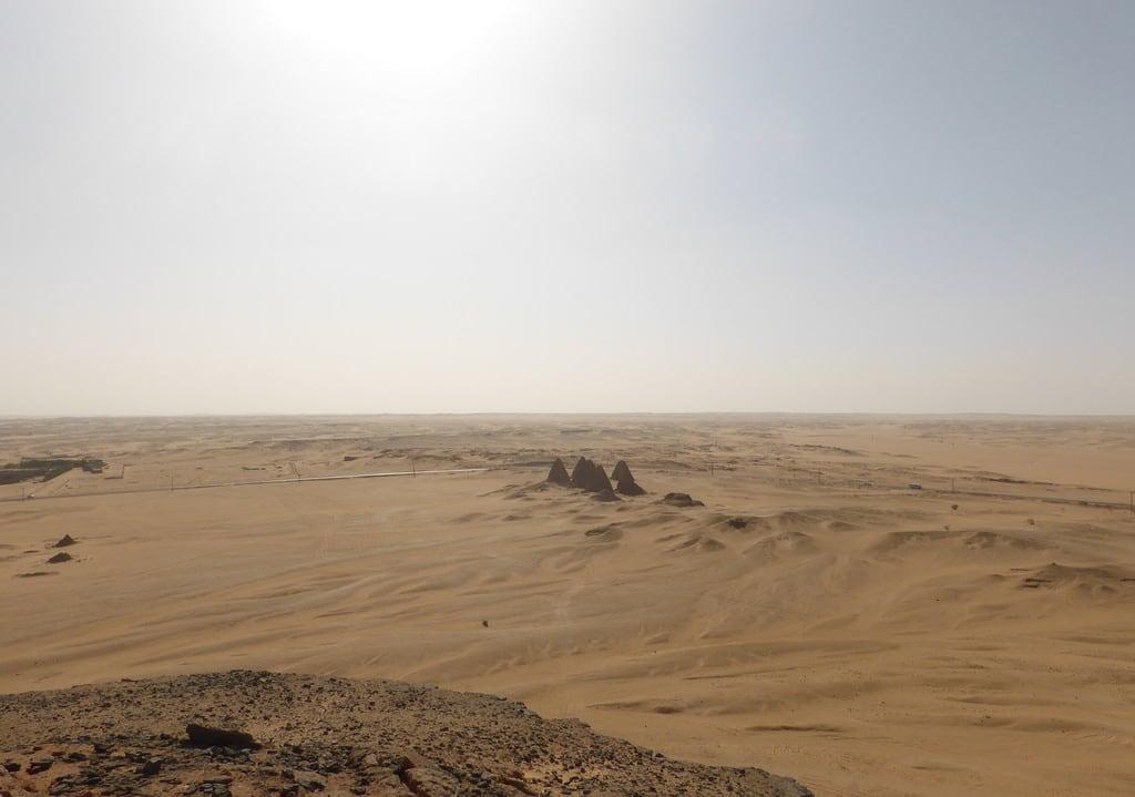 Image of Jebel Barkal. sudan northernsudan jebelbarkal pyramids year2017
