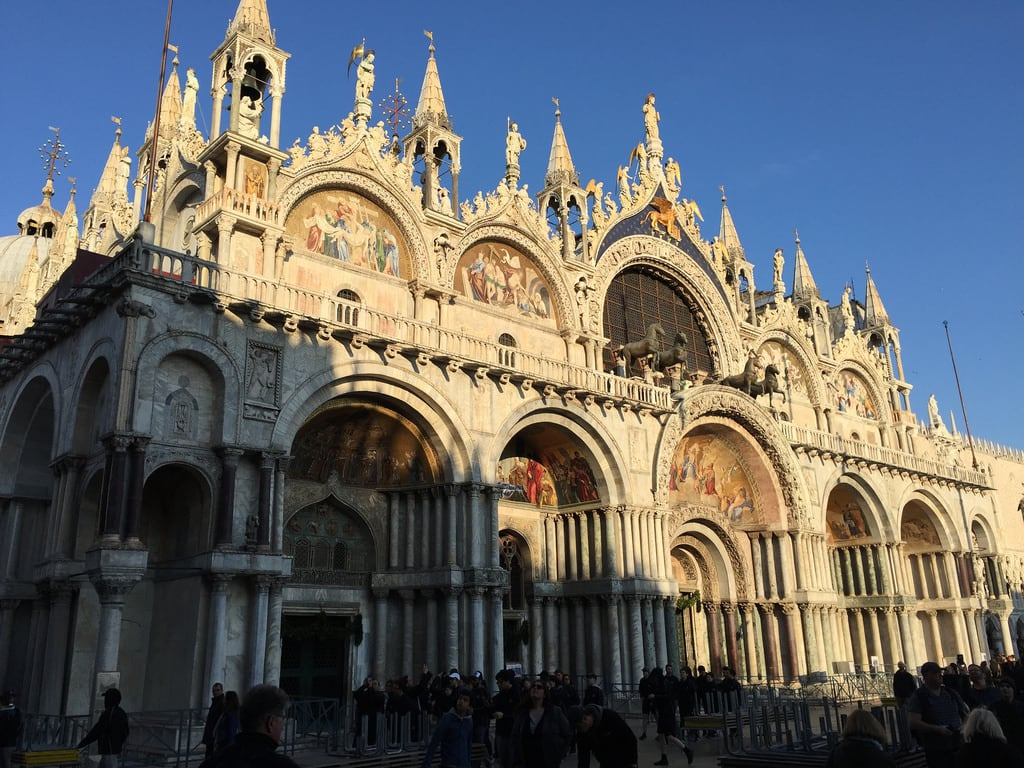 Imagine de St Mark's Basilica. venice italy