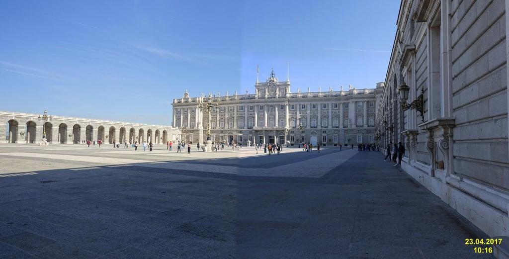 Image of Royal Palace near City Center. 2017 madrid spain palacioreal