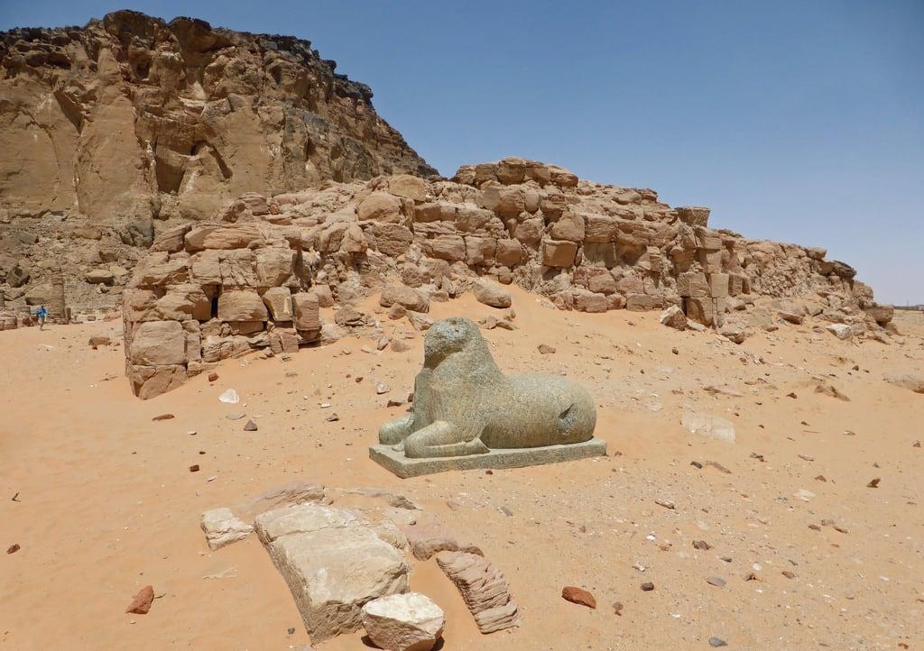 Image of temple of Amun. sudan northernsudan jebelbarkal amuntemple