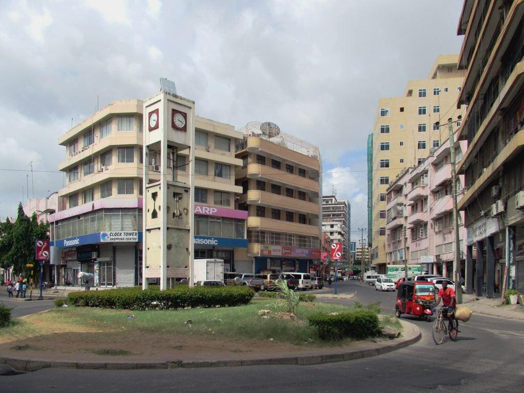 Image of Clock Tower. daressalaam tanzania