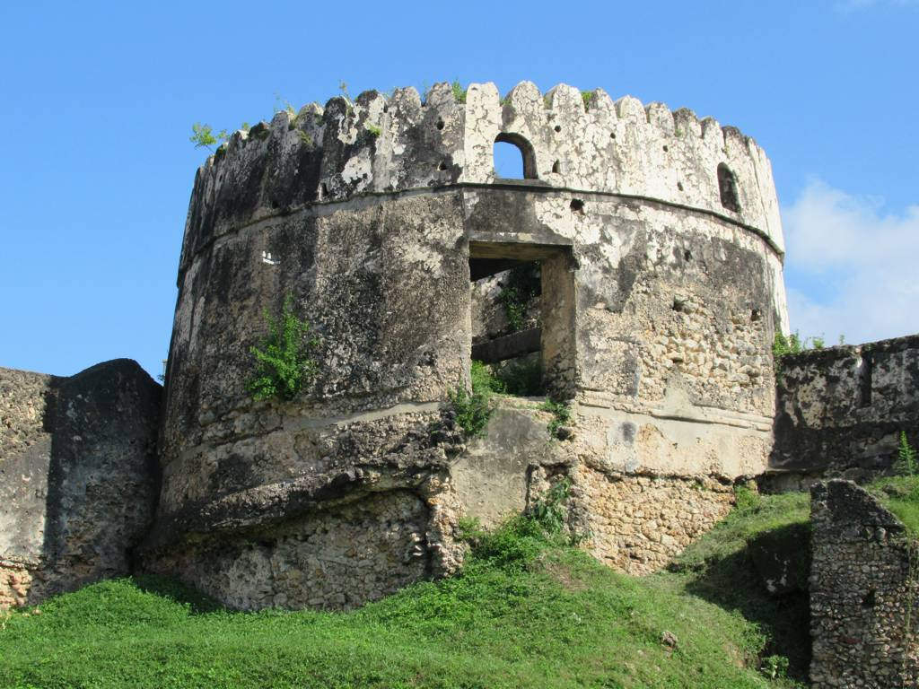 Image of Old Fort. stonetown zanzibar tanzania omani arabs portuguese