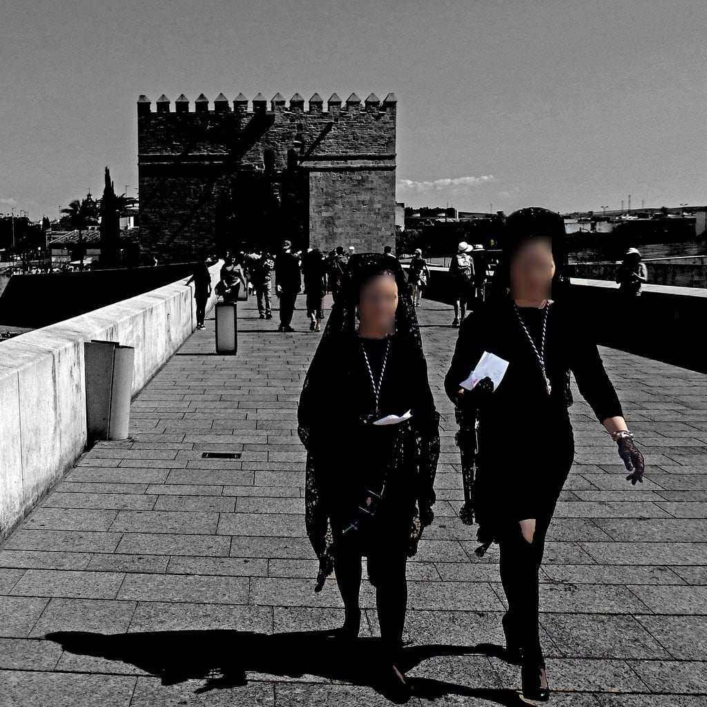 Obraz Puente Romano. puenteromano còrdoba andalucìa panasonicdmctz30 april 2017 people andalusia spain españa europeanunion woman women 100 150 5000 200