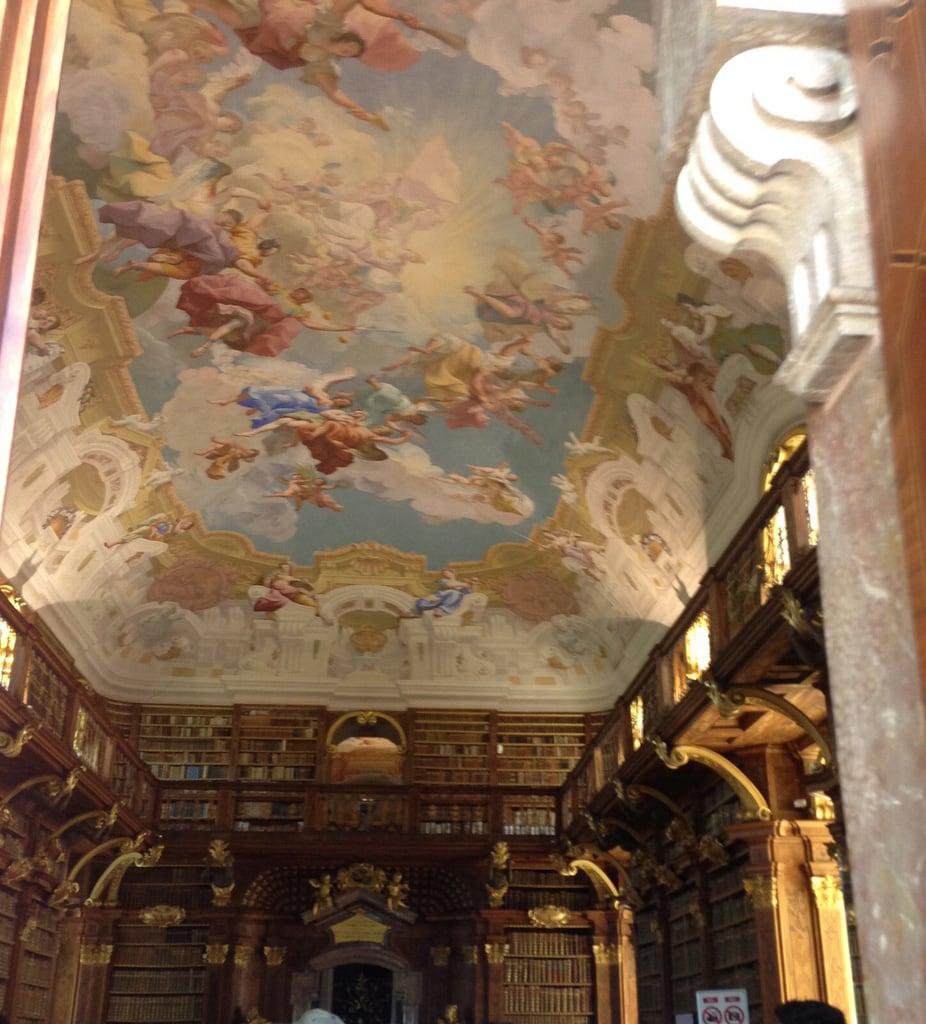 Obraz Melk Abbey. libraries ceilinga melk