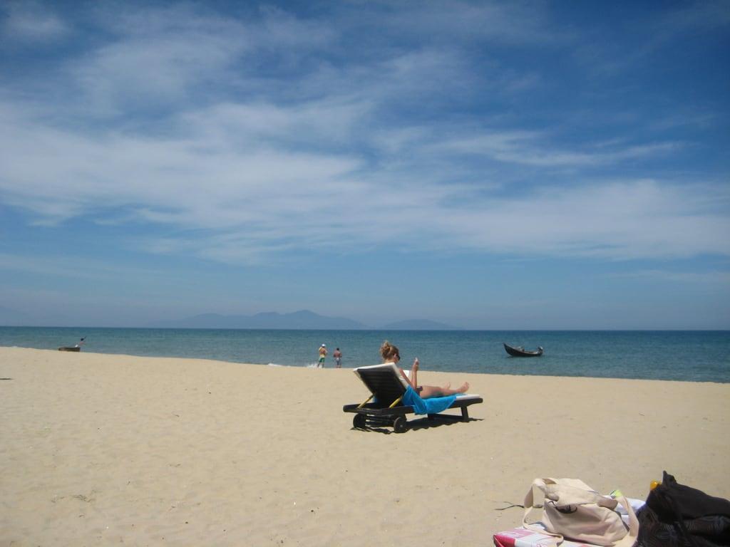 Obrázek Bãi Biển Cửa Đại (Cua Dai Beach) (Bãi Biển Cửa Đại) Cua Dai Beach. geotagged vietnam vnm geo:lon=10836510122 tânthành1 geo:lat=1589872143