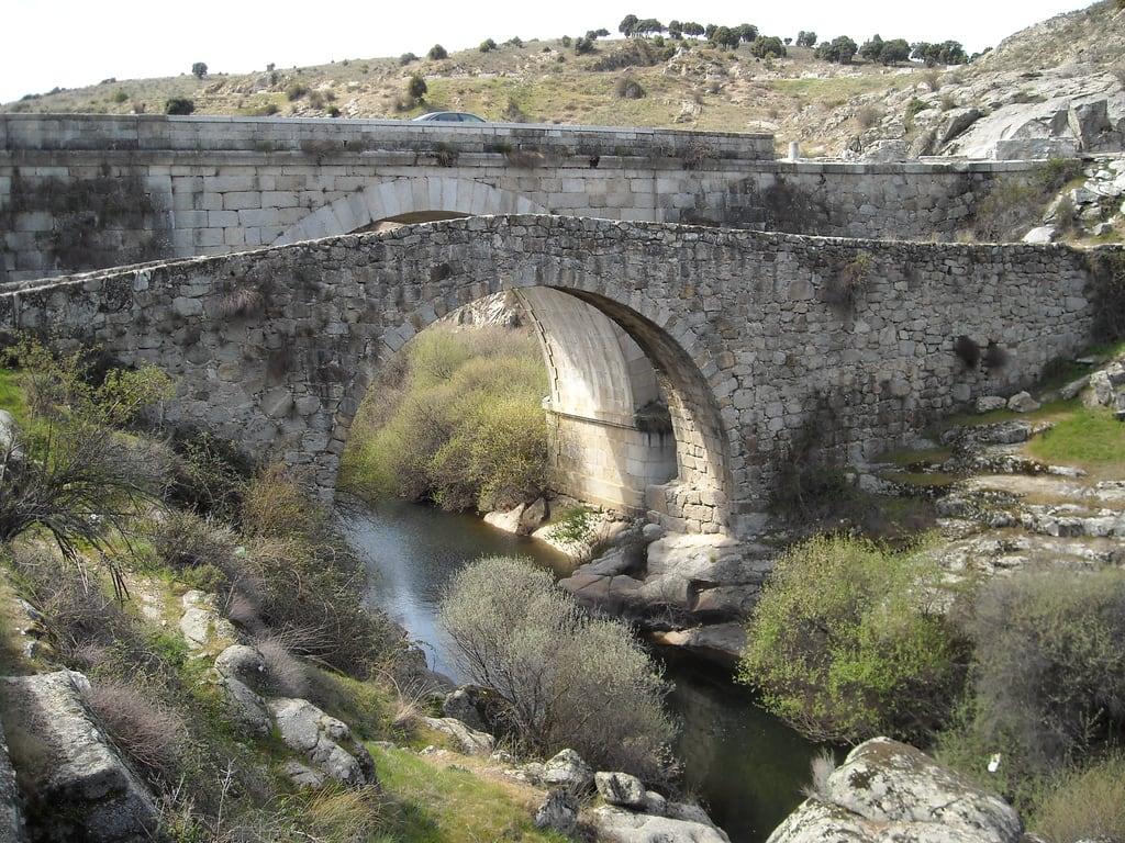 Bild av Puente del Grajal. madrid bridge españa rio puente spain medieval middle viejo ages manzanares colmenar grajal
