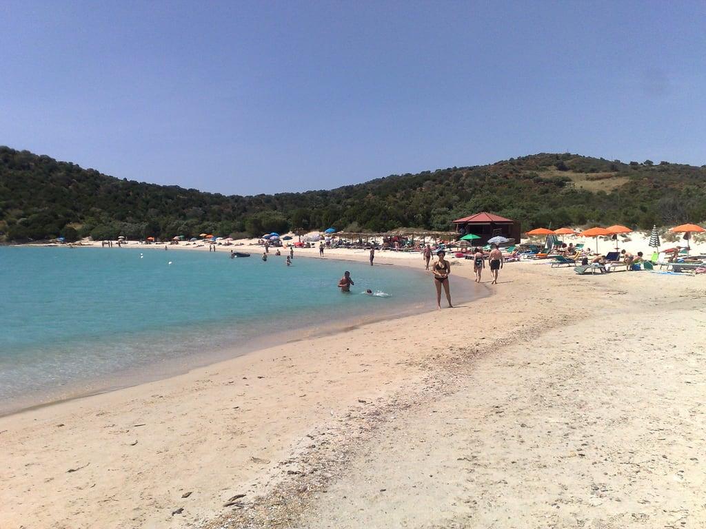 Tuaredda 的形象. sardegna sea sun beach beauty sand mediterraneo mare sardinia sole bruno spiaggia cagliari bellezza sabbia tropico tuerredda