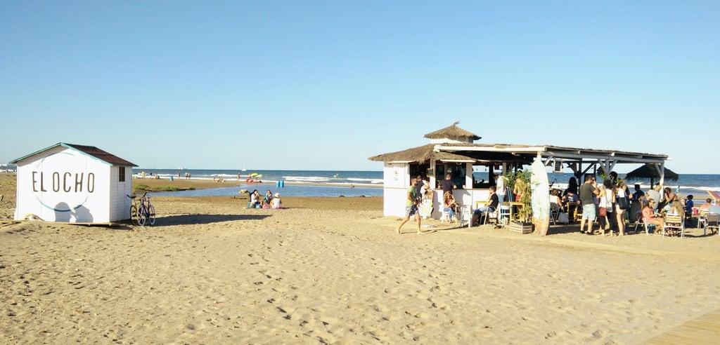 Attēls no Platja de la Patacona. vacances espagne valencia plage