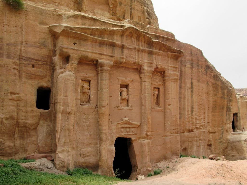 Roman Soldier's Tomb képe. petra jordan nabataean