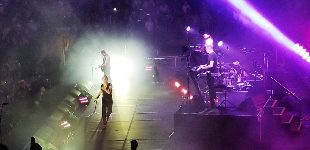 Изображение Медисон-сквер-гарден. depechemode dm madisonsquaregarden msg newyork nyc music concert band live