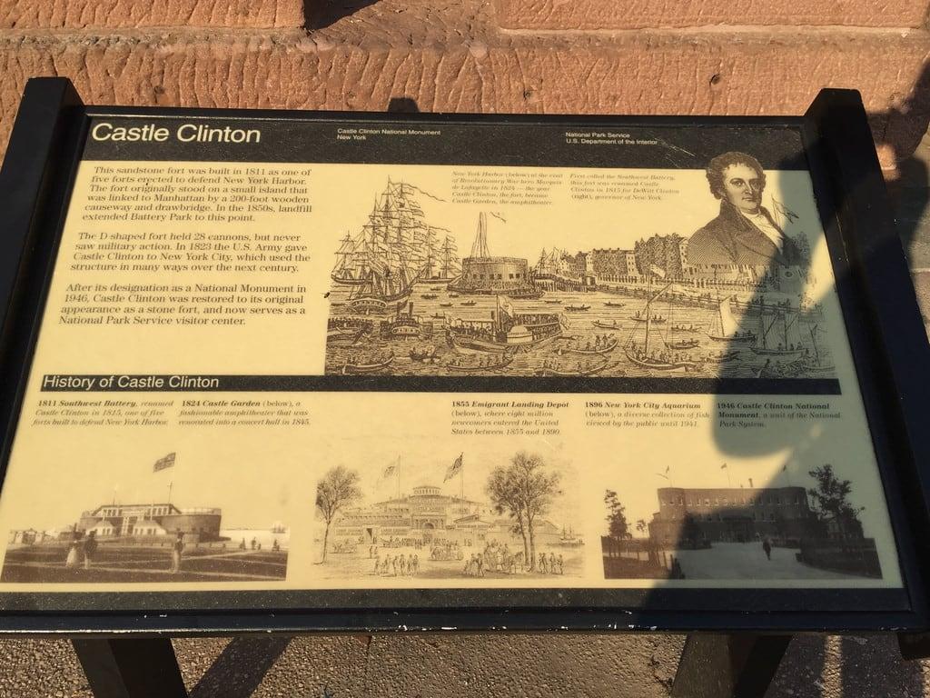 Attēls no Castle Clinton. newyorkcity castleclintonnationalmonument manhattan