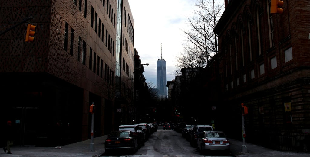 Attēls no American Icon. konomark freedom tower nyc ny new york city greenwich village icon iconic building architect architecture day time outdoor