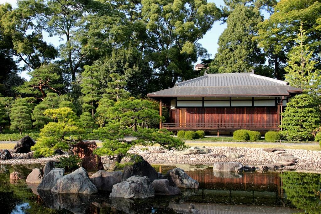 Nijō Castle 的形象. seiryuengarden 香雲亭 kountei 二条城 京都 kyoto 日本 japan ninomarupalace 二の丸御殿 honmarugarden