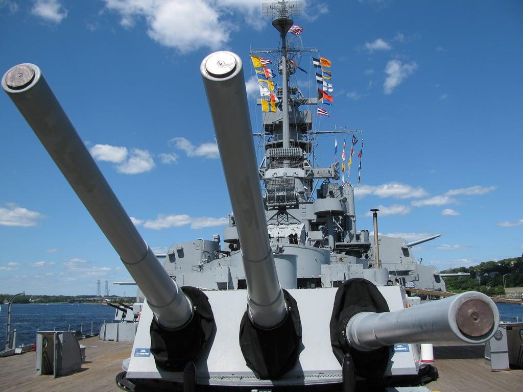 Image de USS Massachusetts.
