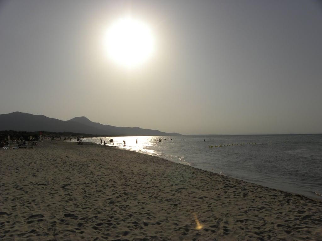 Obrázek Caribbean beach. sunset sun beach tramonto tunisia sunny agosto sole 2009 spiaggia vacanza borj tunisi ferragosto soleggiato borjcedria cedria 150809