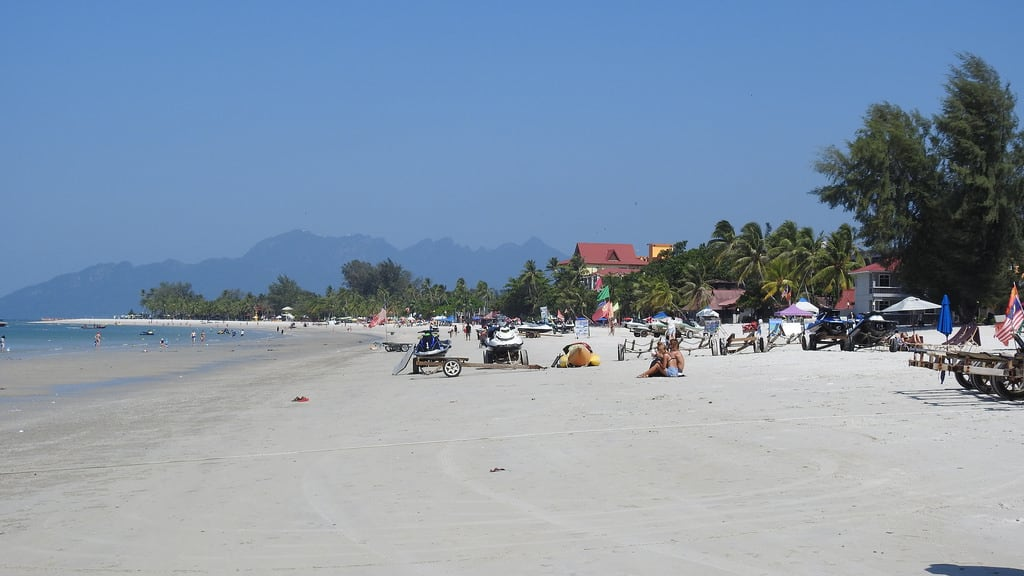 Pantai Cenang (Beach) Cenang Beach képe. langkawi malaysia