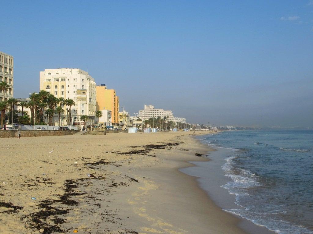 Obrázek Plage BouJaafar. plage boujaafar sousse tunisia mediterranean