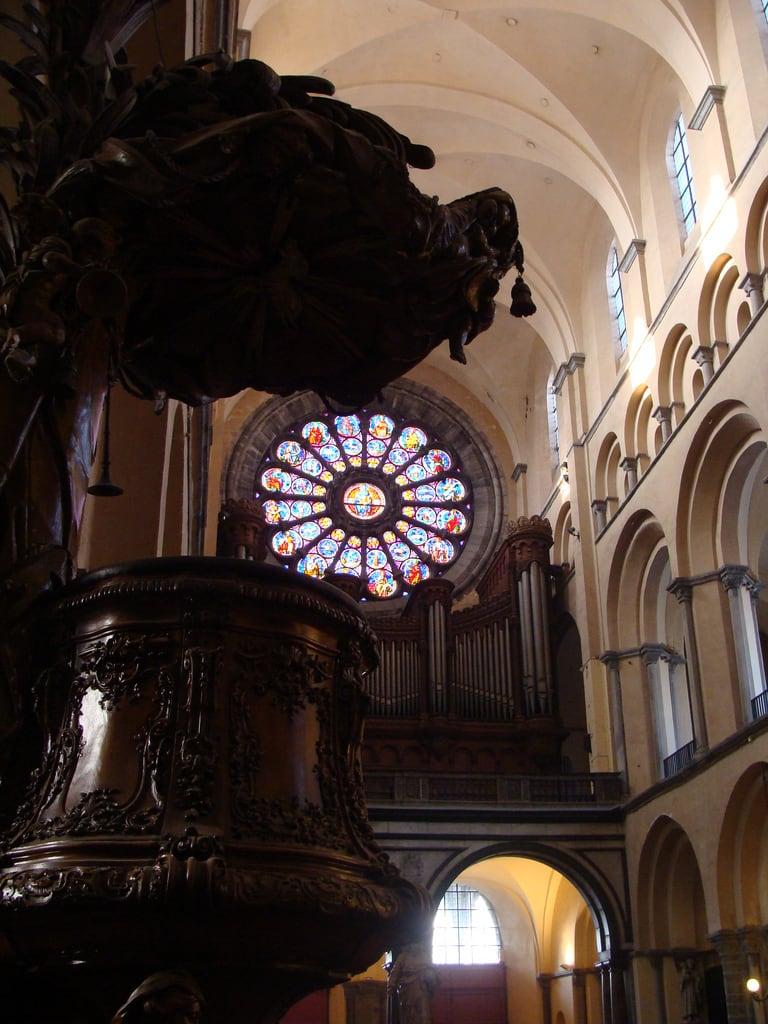 Image of Cathédrale Notre-Dame. de notredame cathédrale tournai