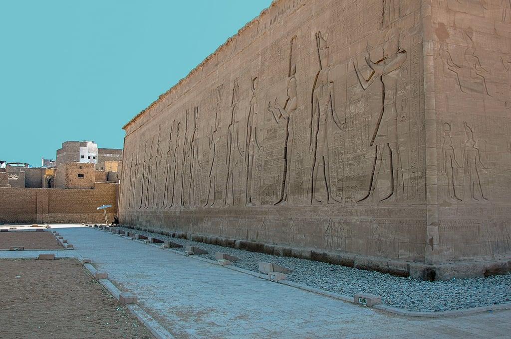 Obraz Temple of Horus. ralfstamm ägypten 2004 adfo aswangovernorate eg