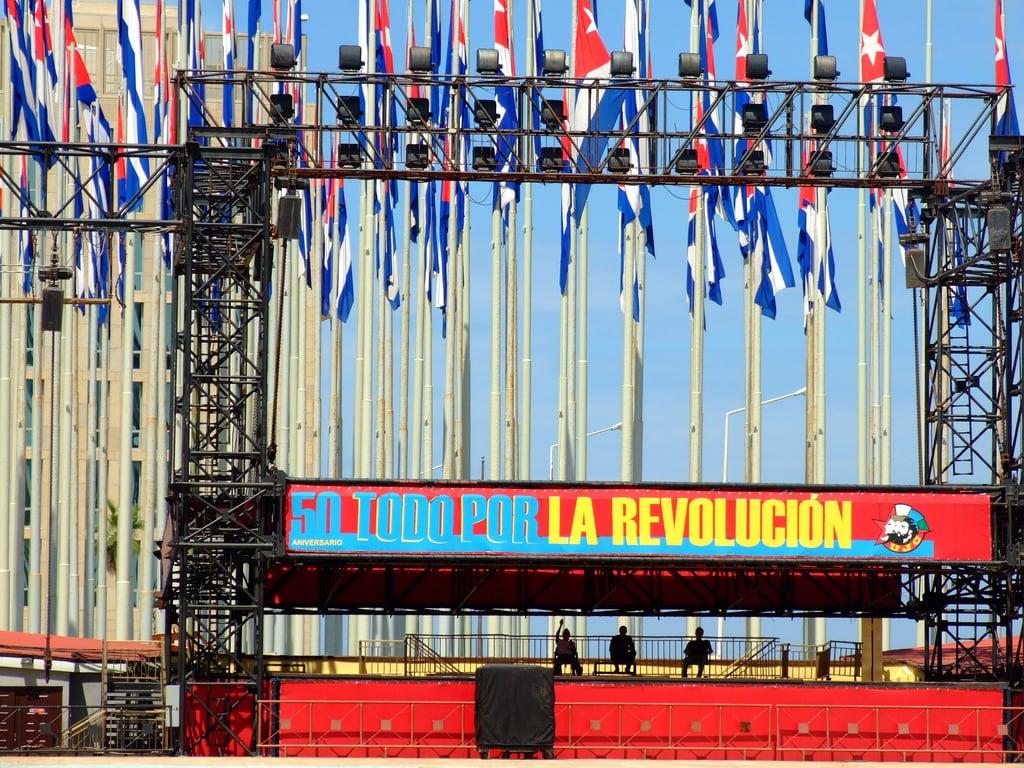 Immagine di Monte de las Banderas. usa flag cuba flags revolucion estadosunidos bandiere bandiera statiuniti avana