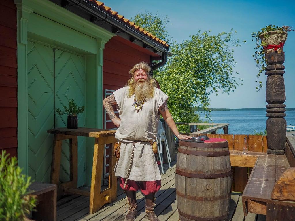 Image of Birka. björkö stockholmslän sweden se