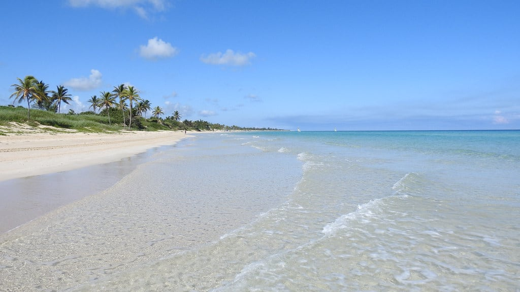Image of Playa Santa María near Alamar.