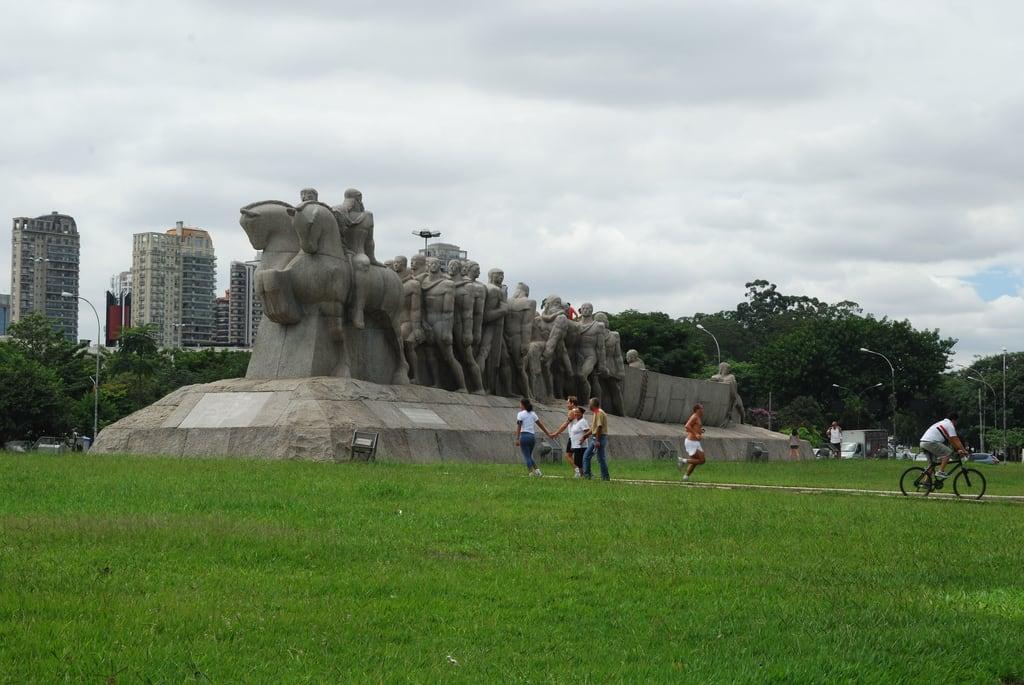 Bild von Monumento às Bandeiras. saopaulo