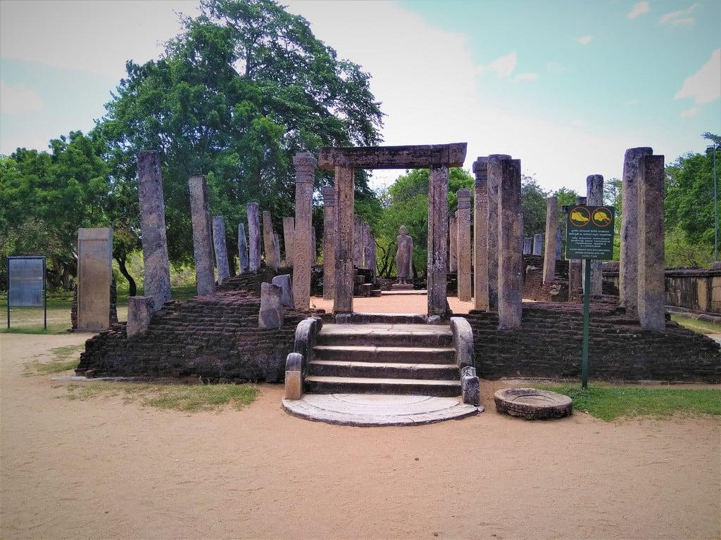 Image of Polonnaruwa Quadrangle. unesco world heritage polonnaruwa srilanka ccby ancient monument travel wikicommons wikipedia nahidsultan