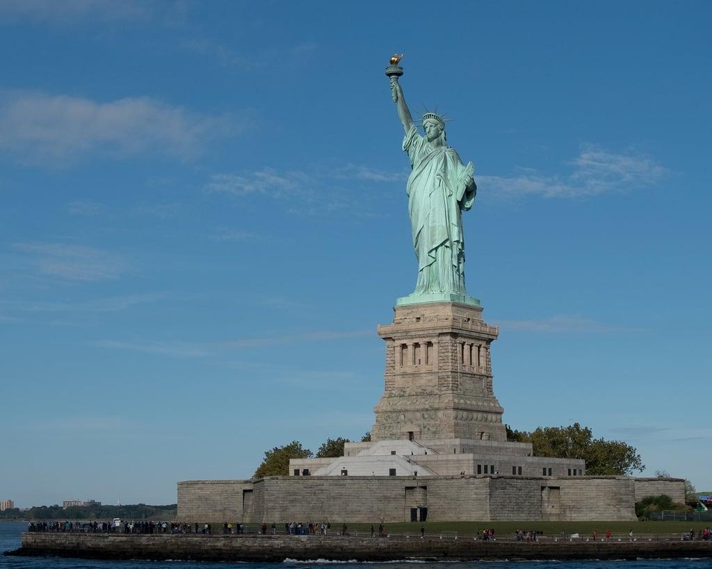 自由女神像 的形象. newyorkcity newjersey unitedstates us cfptig18