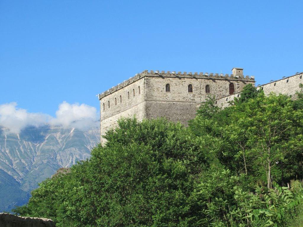 Image of Gjirokastër Castle. gjirokaster castle albania