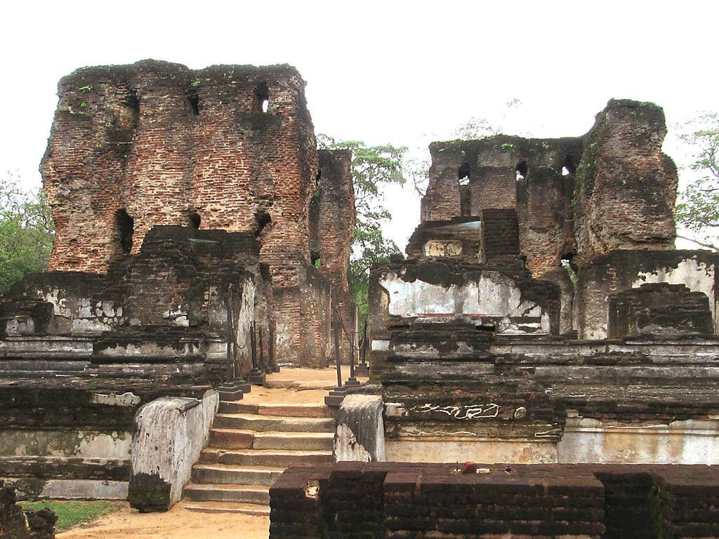Image of Royal Palace of King Parakramabahu. palace kingparakramabahuthegreat polonnaruwa srilanka