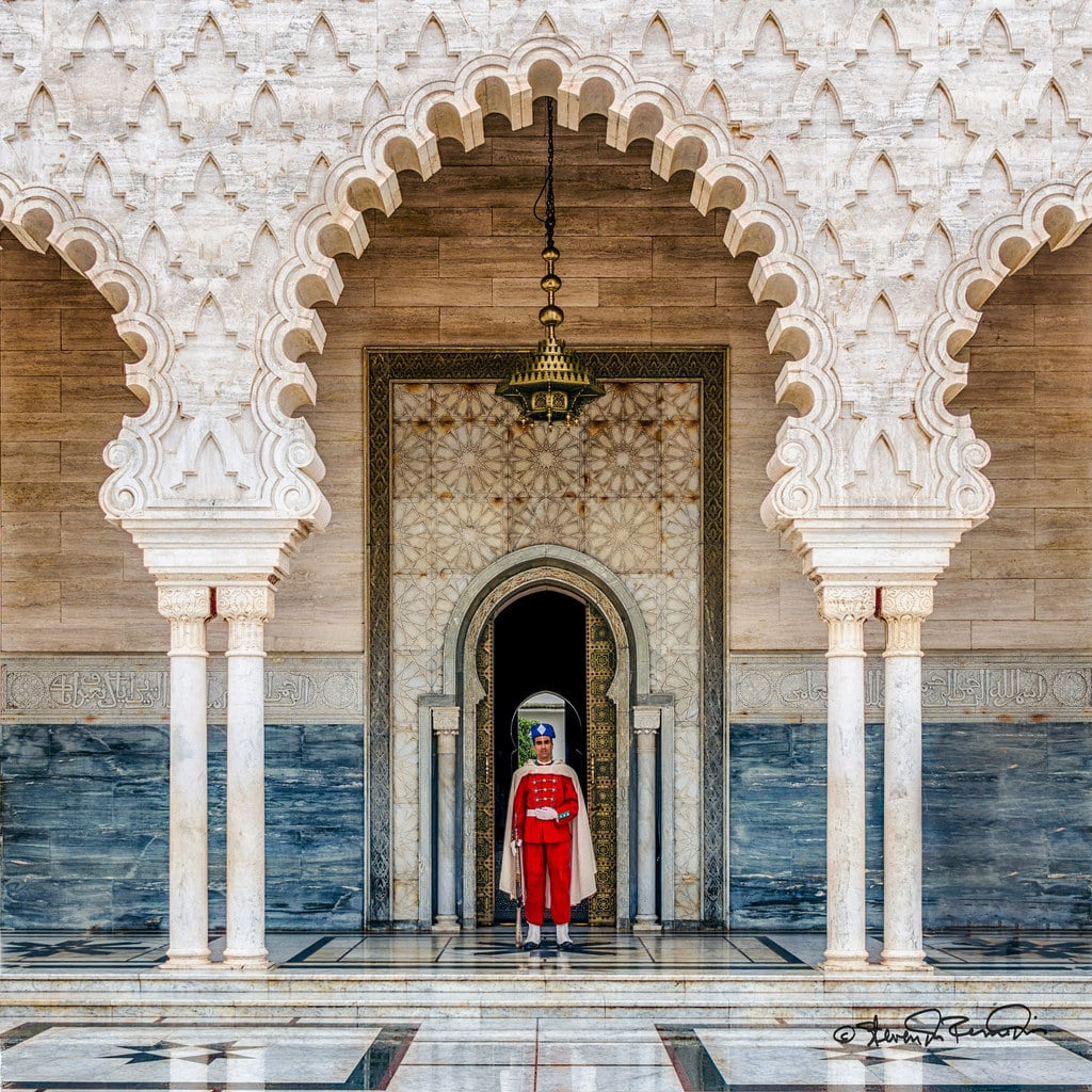 Imagen de Mausoleum Mohammed V. rabat morocco cstevendosremedios rabatsalézemmourzaer ma