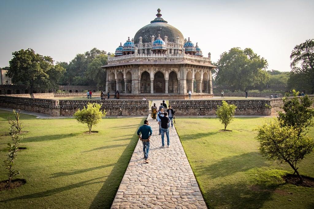 Billede af Humayun's Tomb. india delhi humayunstomb