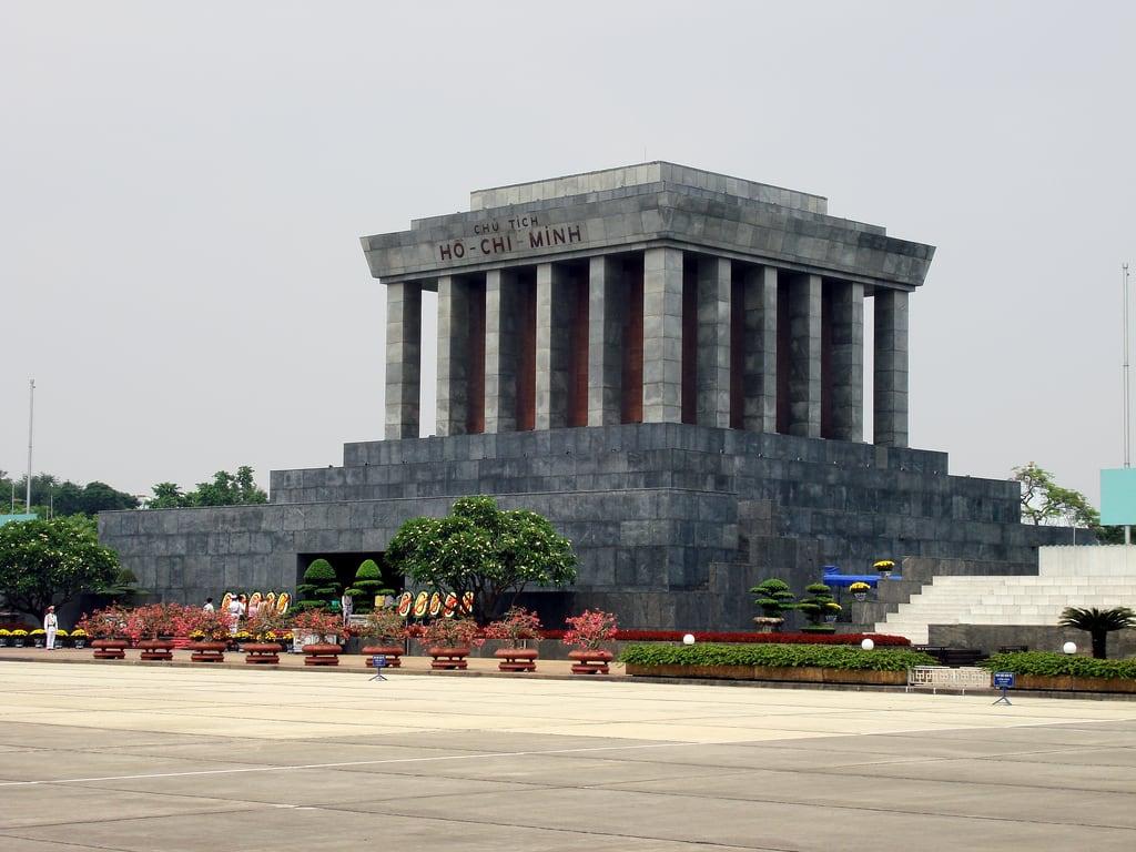 Imagine de Ho Chi Minh Mausoleum.