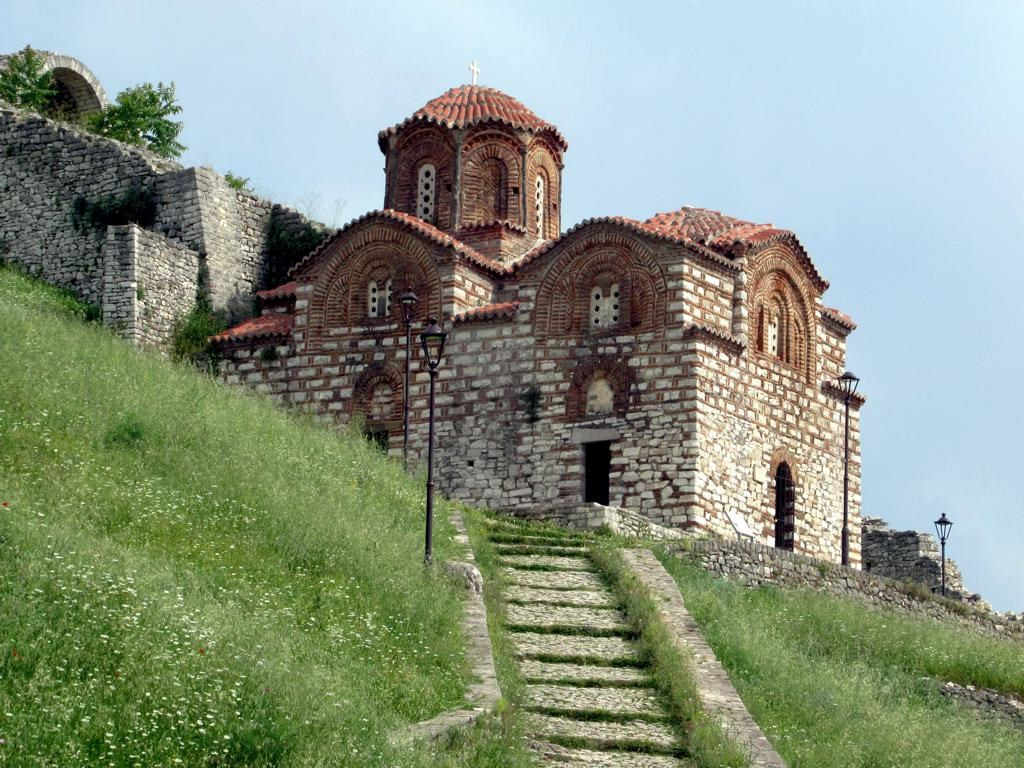 Image of Berat Castle. churchoftheholytrinity berat byzantine albania