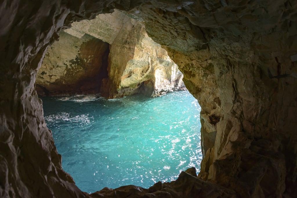 Rosh HaNikra grottoes की छवि. ezornahariya southgovernorate lebanon il